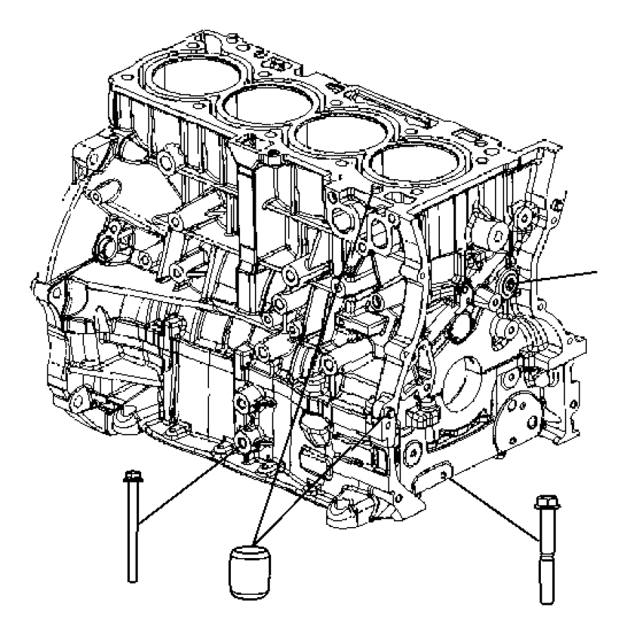 2016 Jeep Compass Engine. Long block. Remanufactured