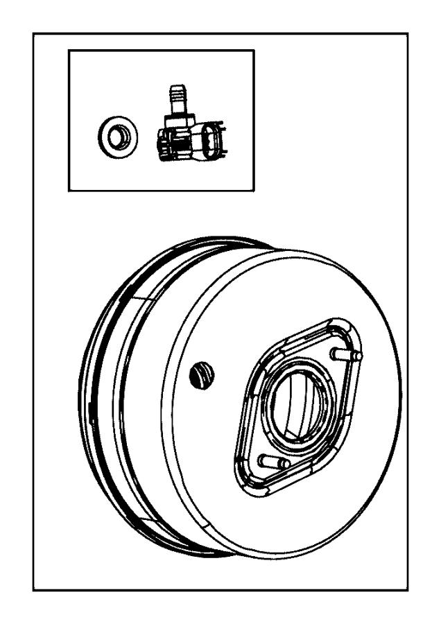 Jeep Grand Cherokee Pump. Air. [3.0l v6 24v vvt engine
