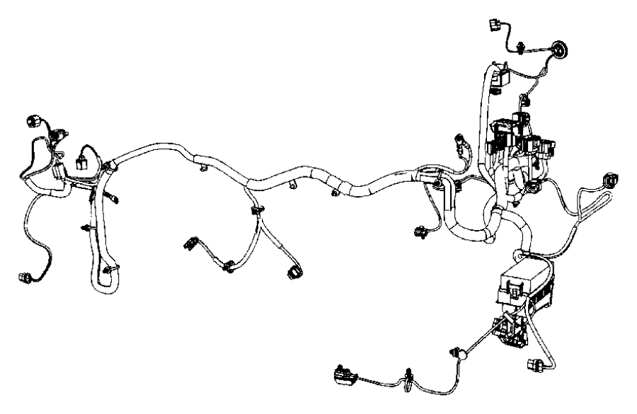 Jeep Compass Wiring. Headlamp to dash. Lampslatin