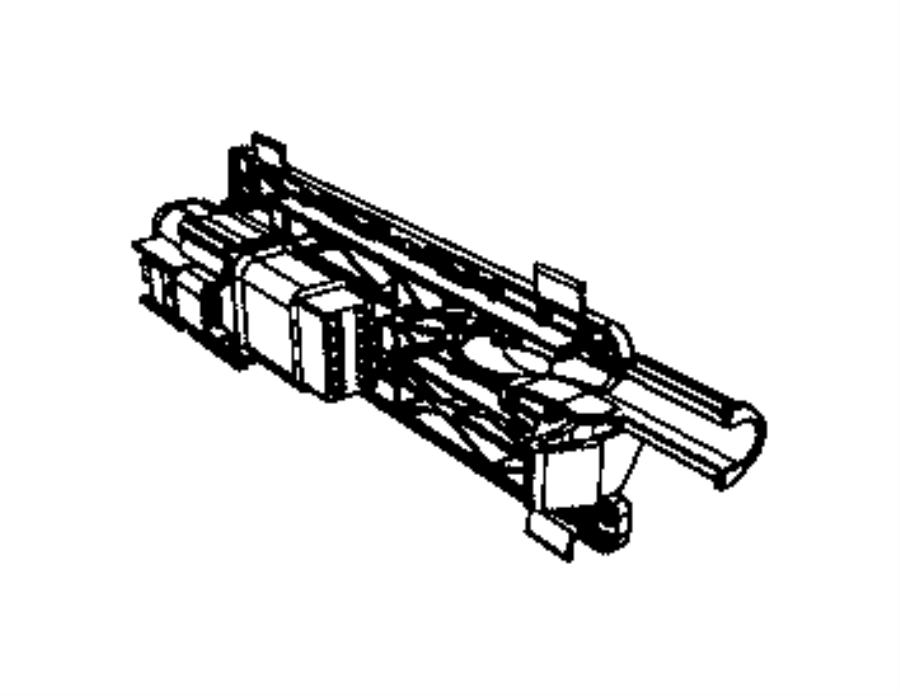 RAM 1500 Connector kit, wiring. Tailgate, tailgate wiring
