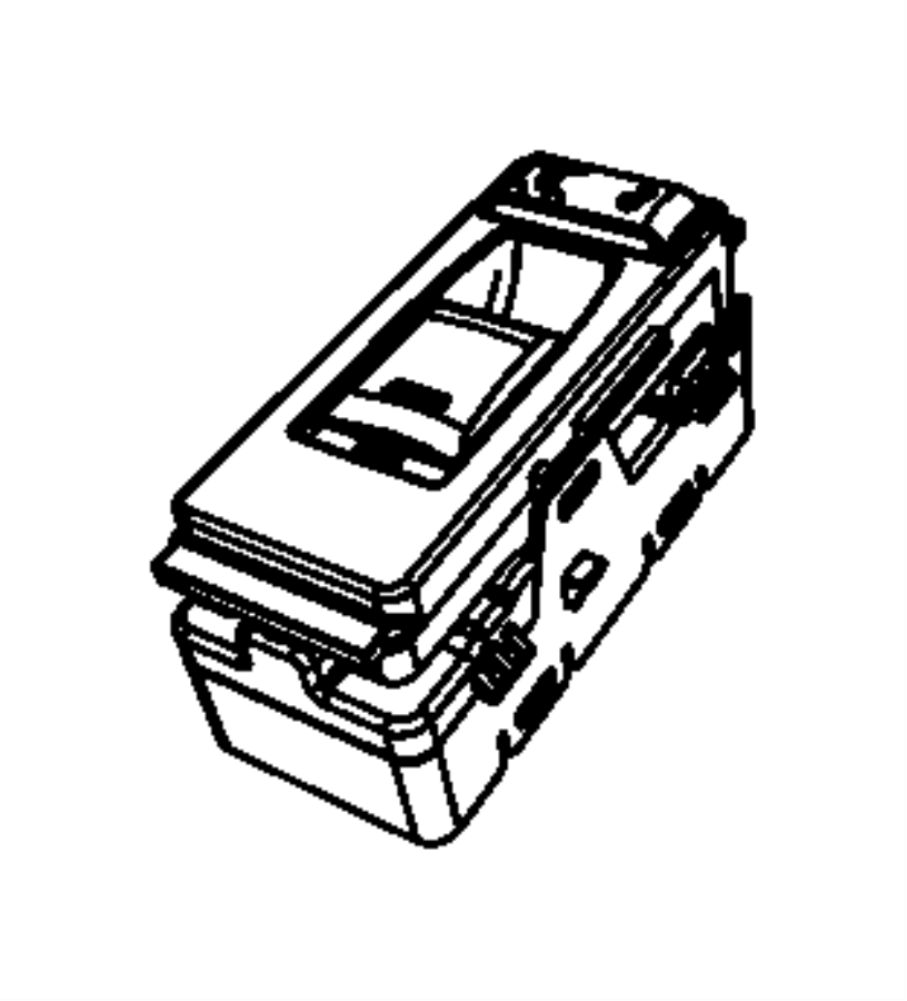 Dodge Challenger Switch. Power window. Trim: [prem leather