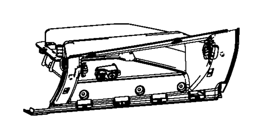 2013 Dodge Dart Glove box. Opening. Trim: [no description