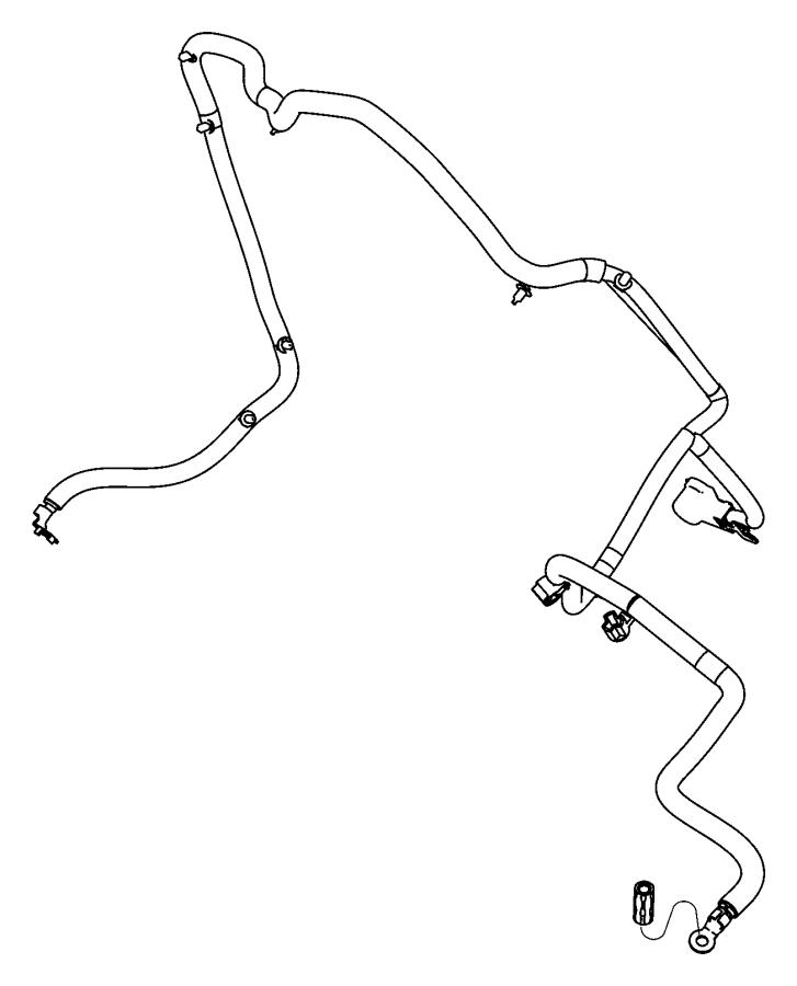 Dodge Durango Wiring. Alternator starter power