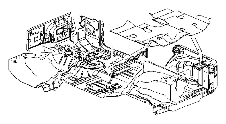 Jeep Wrangler Mat. Cargo. [black], [altitude floor mats