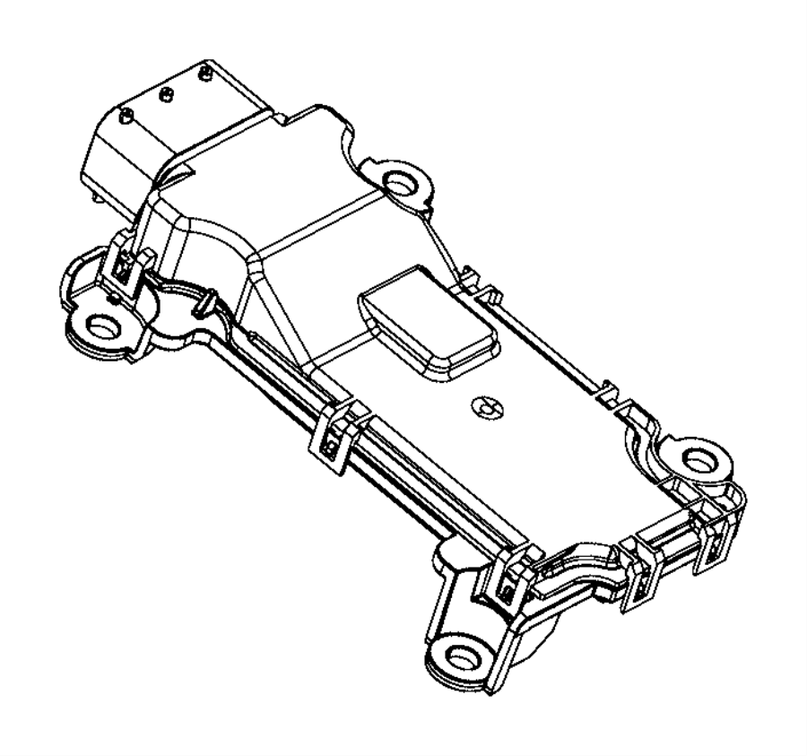 2015 Chrysler 200 Module. Transmission control. Export