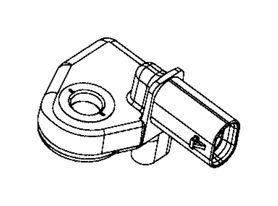 2015 Chrysler 200 Sensor. Pressure. Left, right