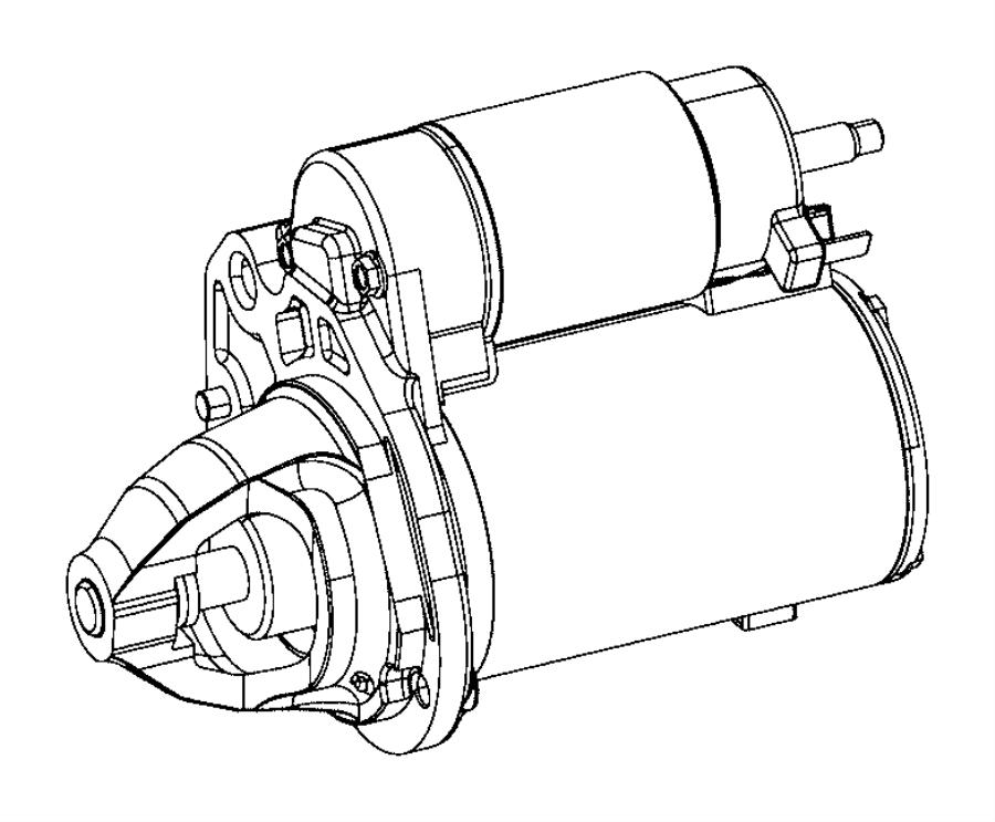 2014 Dodge Journey Starter. Engine. Moduleblackambassador