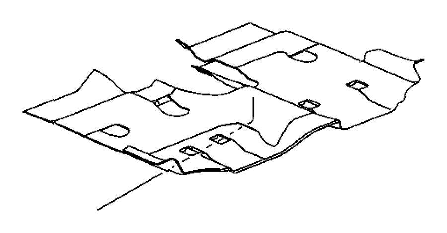 Jeep Wrangler Carpet. Cargo floor, luggage compartment
