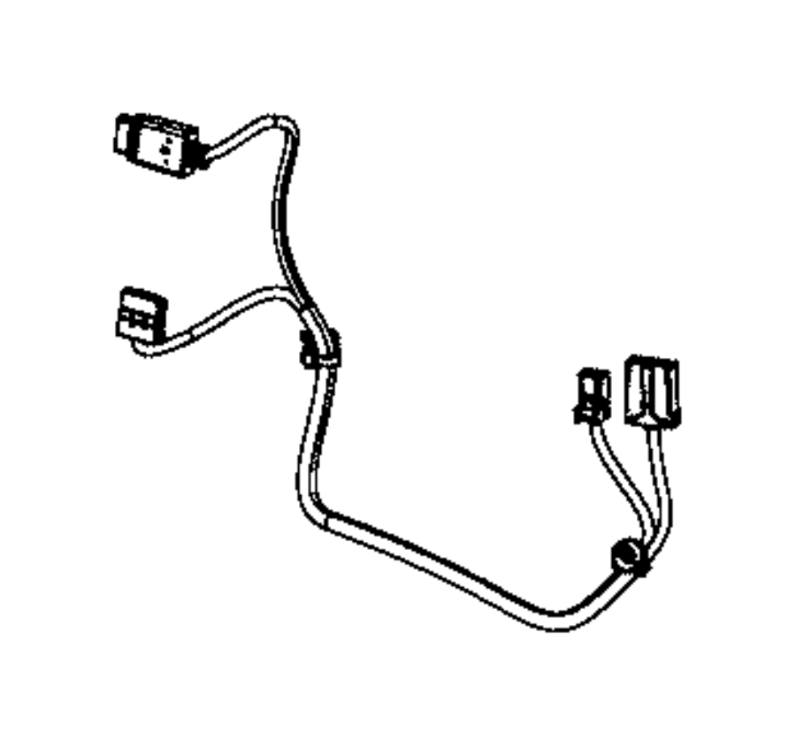 Jeep Grand Cherokee Wiring. Jumper, power seat. Active