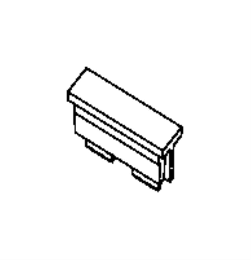 RAM PROMASTER Fuse. Maxi. 50 amp, red. Canada, export