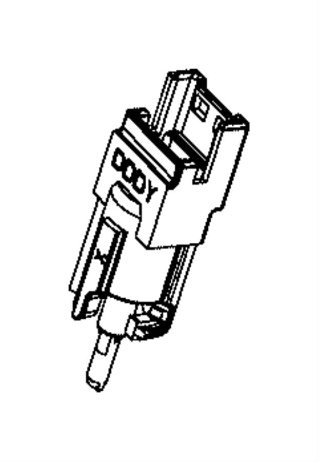 Dodge Ram 2500 Sensor. Ambient temperature. Mirrorstrailer