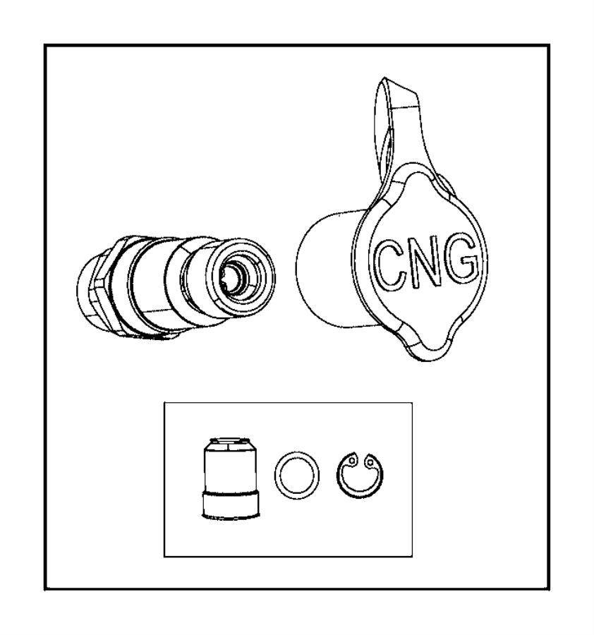 RAM 2500 Filter kit. Fuel filler. Cng. Filters, fillercng
