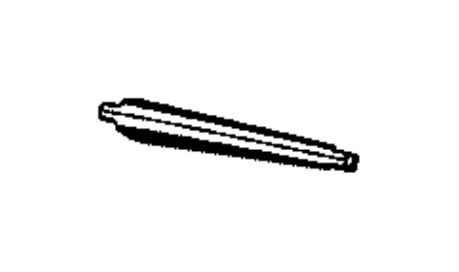 Chrysler Pacifica Arm. Rear wiper. [rear window wiper