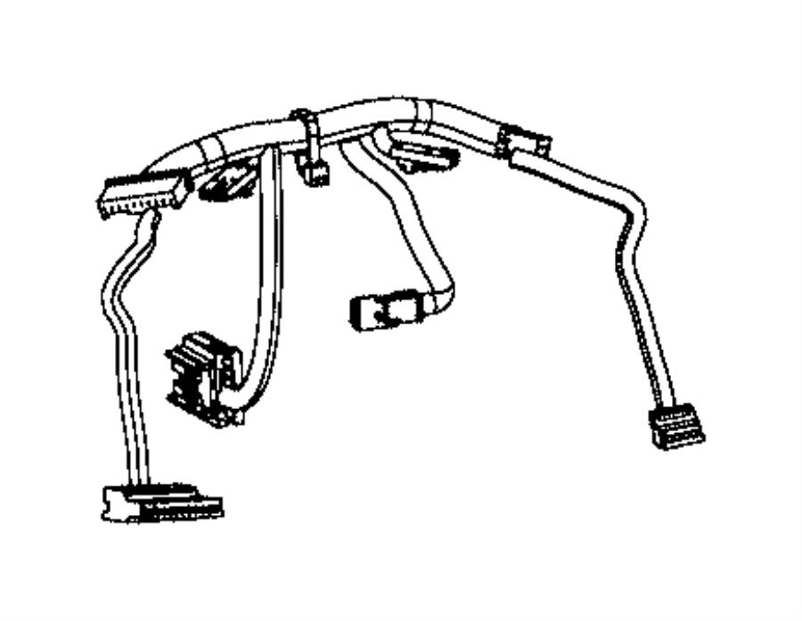 Jeep Cherokee Wiring Steering Wheel Export Trim No