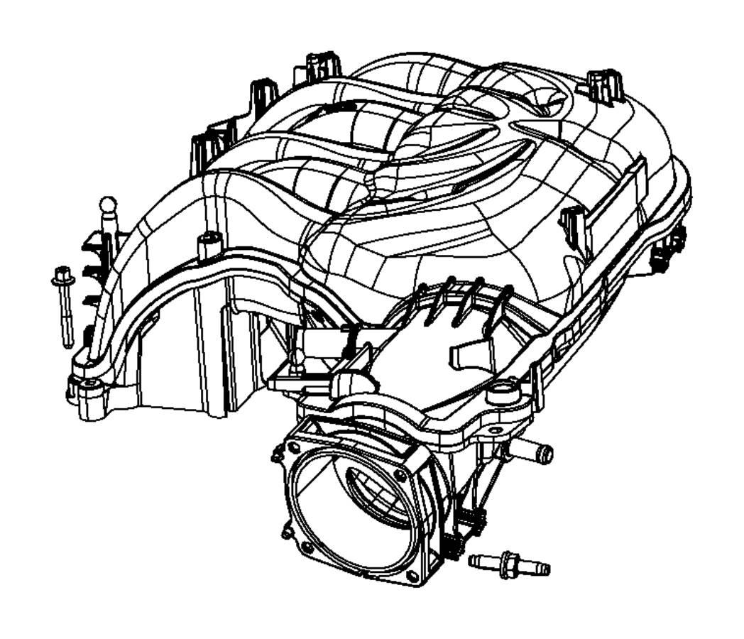 Dodge Ram Plenum Intake Manifold Ert