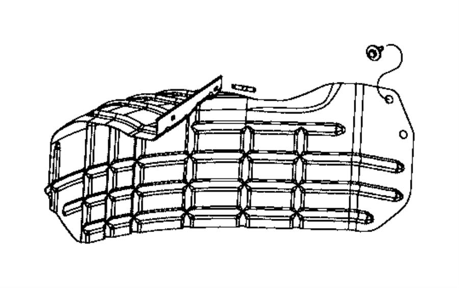 RAM 3500 Shield. Heat. [tire carrier winch], [tire carrier