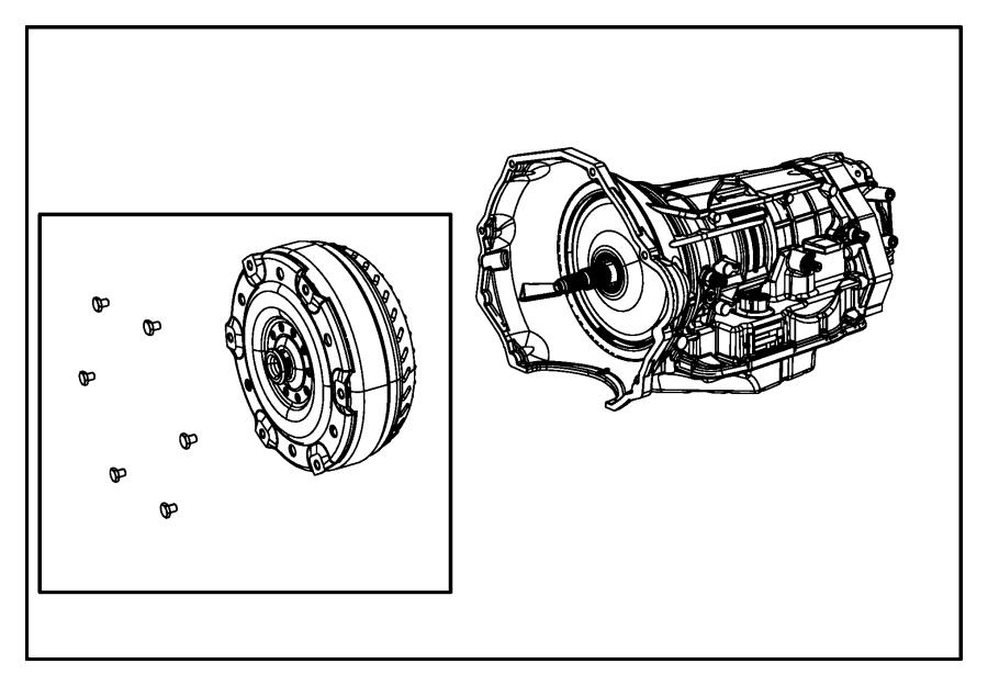 RAM 2500 Transmission kit. With torque converter