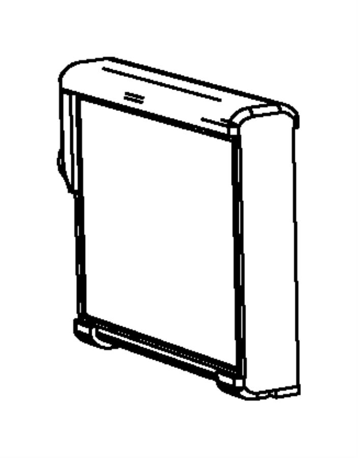 2012 Dodge Ram 1500 Evaporator. Air conditioning