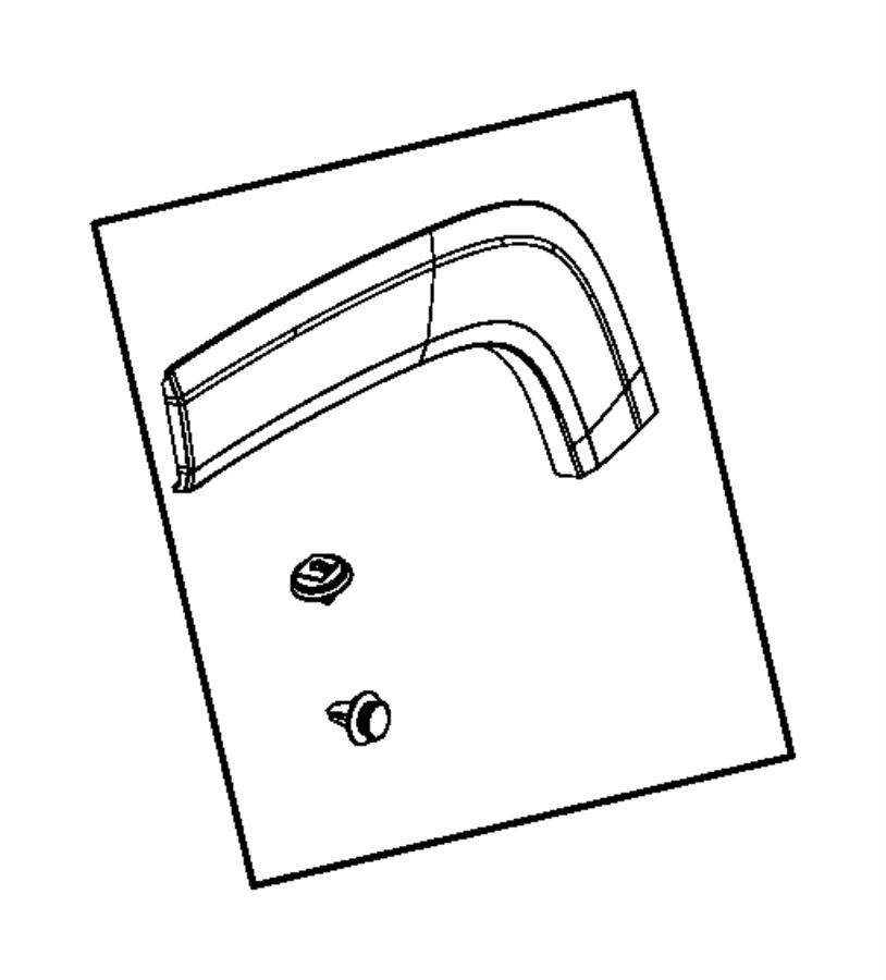 2016 Jeep RENEGADE Clip. Retaining. Trim: [no description