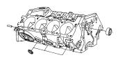 Jeep Patriot Plug. Right, torque converter. Cylinder block