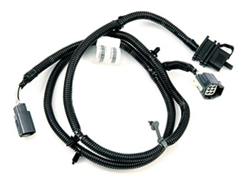 Jeep Wrangler Complete Harness. 4-way flat trailer