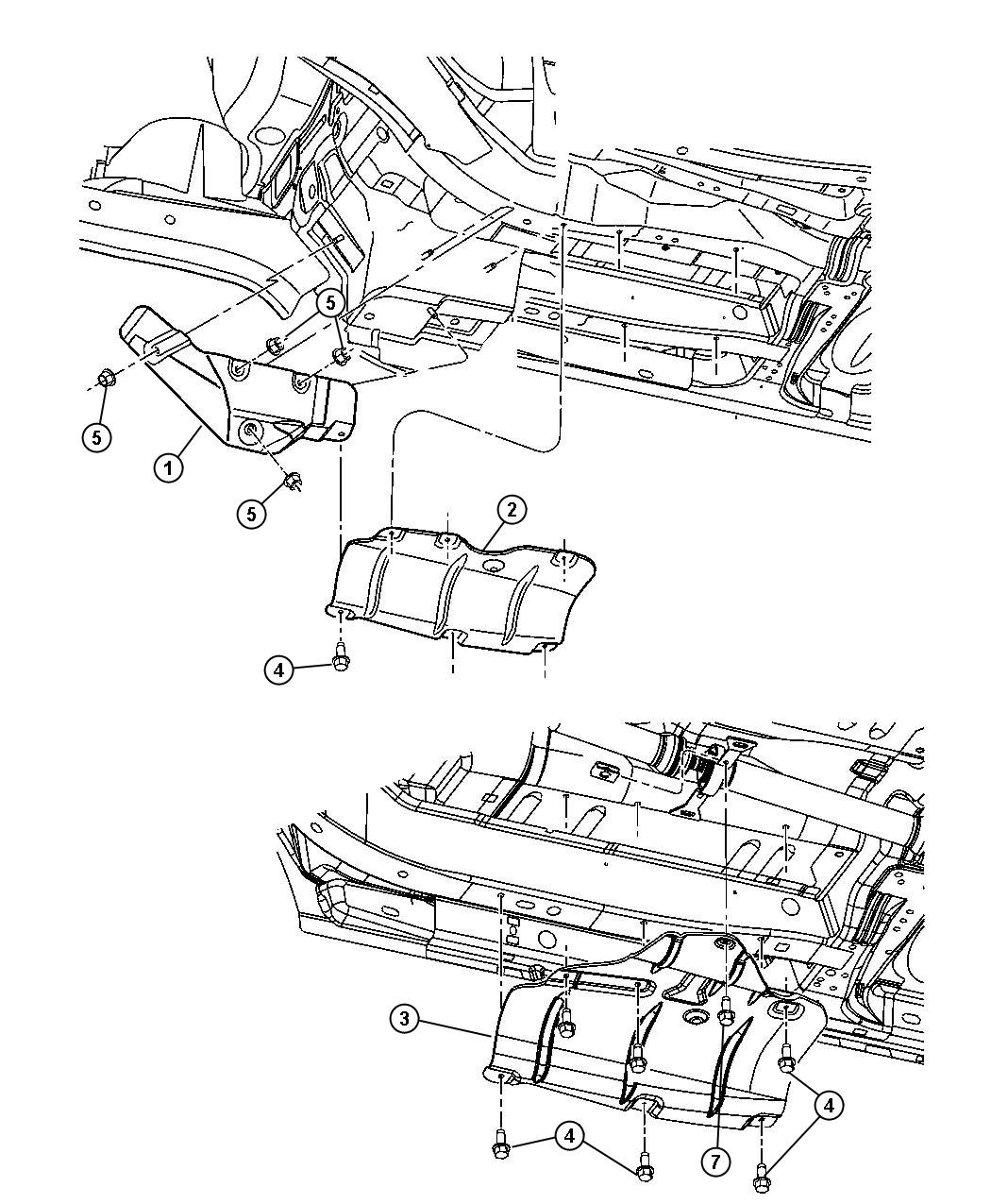 Chrysler Pacifica Used For Bolt And Coned Washer Hex