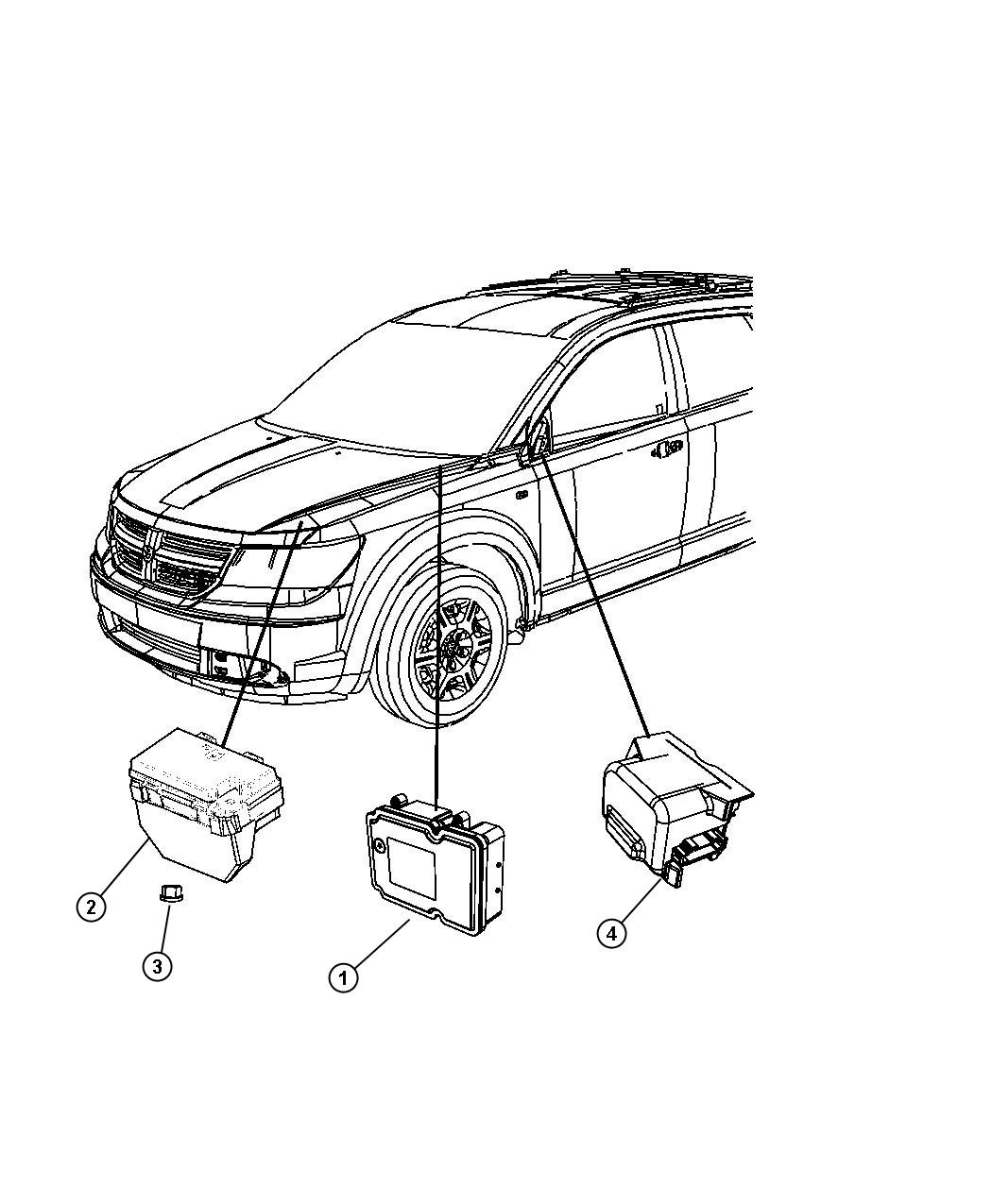Dodge Journey Module. Totally integrated power