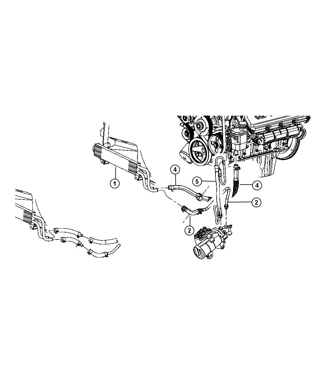 Dodge Ram Cooler Power Steering After 5 09