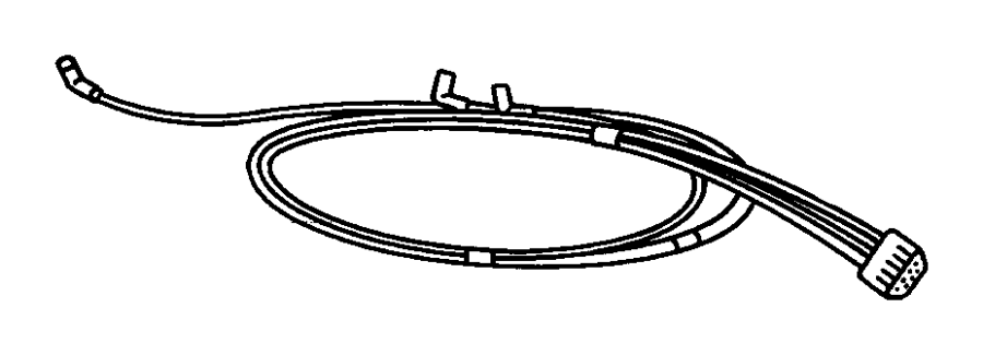 1999 Dodge Ram 1500 Harness. Used for: a/c and heater