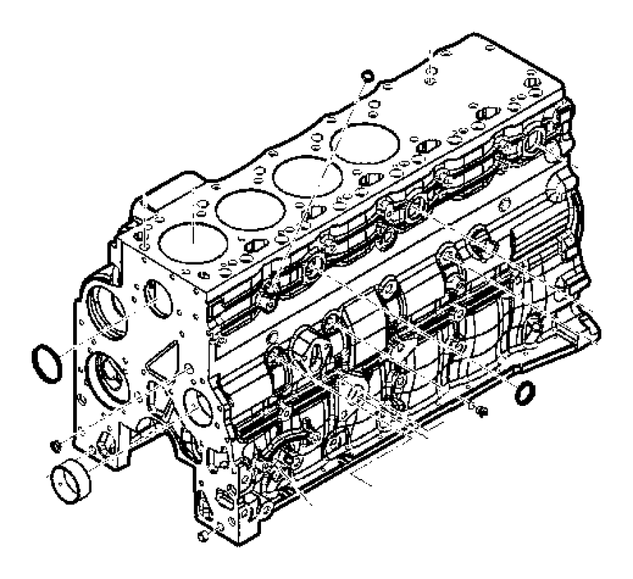 Chrysler LHS Plug. Core, cylinder block. Freeze
