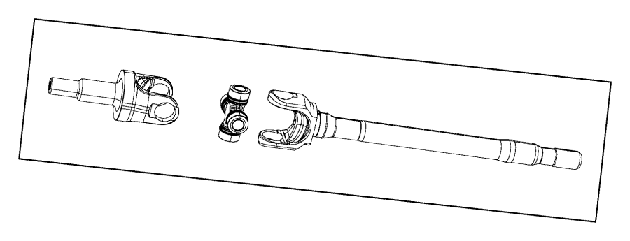 2014 Jeep Wrangler Guide. Axle shaft. Rear, front, ratio