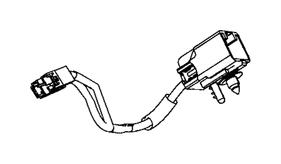 2009 Chrysler Town & Country Wiring. Jumper, overhead