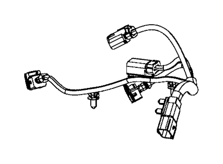 2012 Chrysler 300 Wiring. Used for: knock, oil pressure