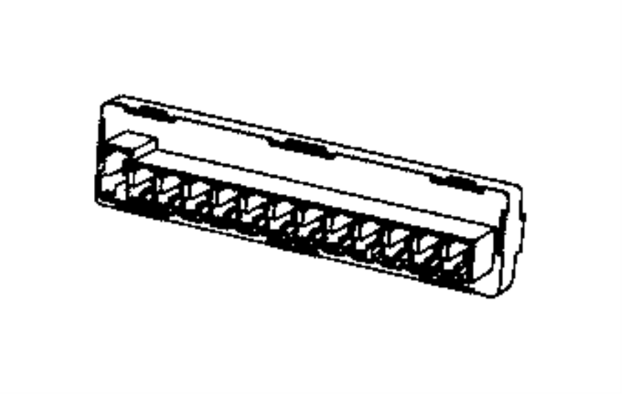 Dodge Dart Can buss. Connector. Star. Export, us, canada