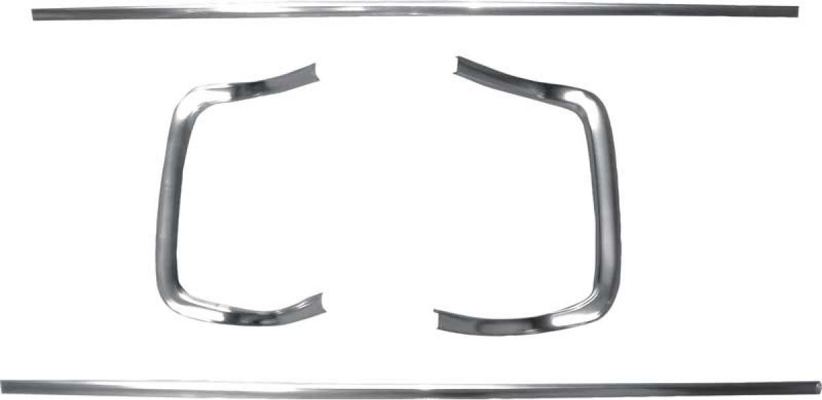 OER 1968 Dodge Charger 4 Piece Grill Molding Set MB2172