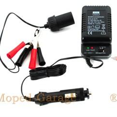 12 Volt Und 7 Anper Batterien Gell Electrical Wiring Diagram In House Moped Garage Motorrad Roller Batterie Ladegerät 6