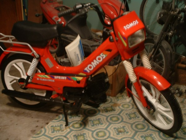 1995 Tomos Sprint A35 Moped Moped Army - Year of Clean Water