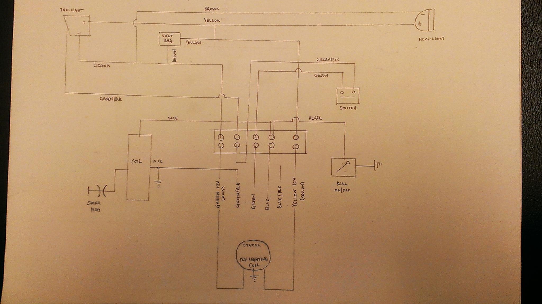 Trail Tech Regulator Wiring Diagram Printable Wiring Diagram