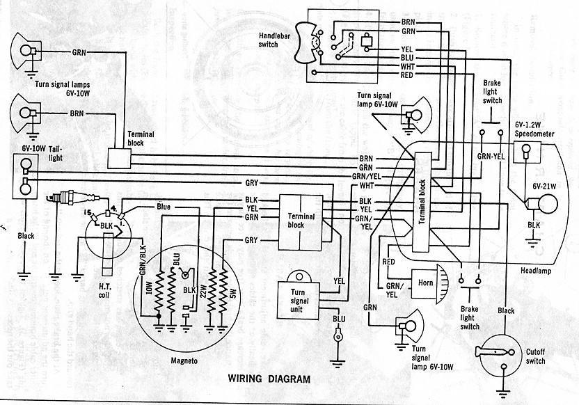 Re: Batavus Regency wiring diagram