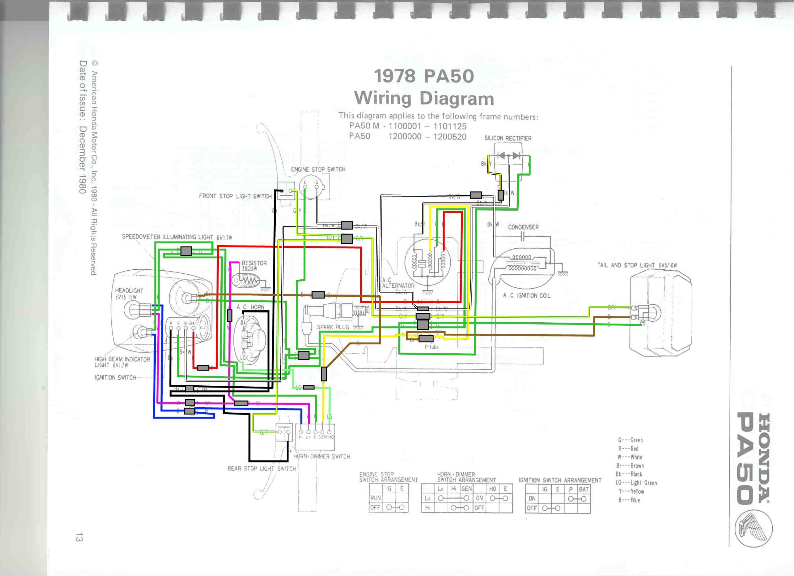honda today 50 wiring diagram american standard furnace hobbit moped cdi get free