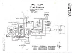 Re: 78 honda express wiring diagram