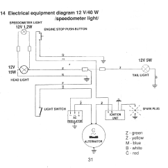 49cc Scooter Wiring Diagram Kenwood Stereo Color Code Puch Moped Wiki