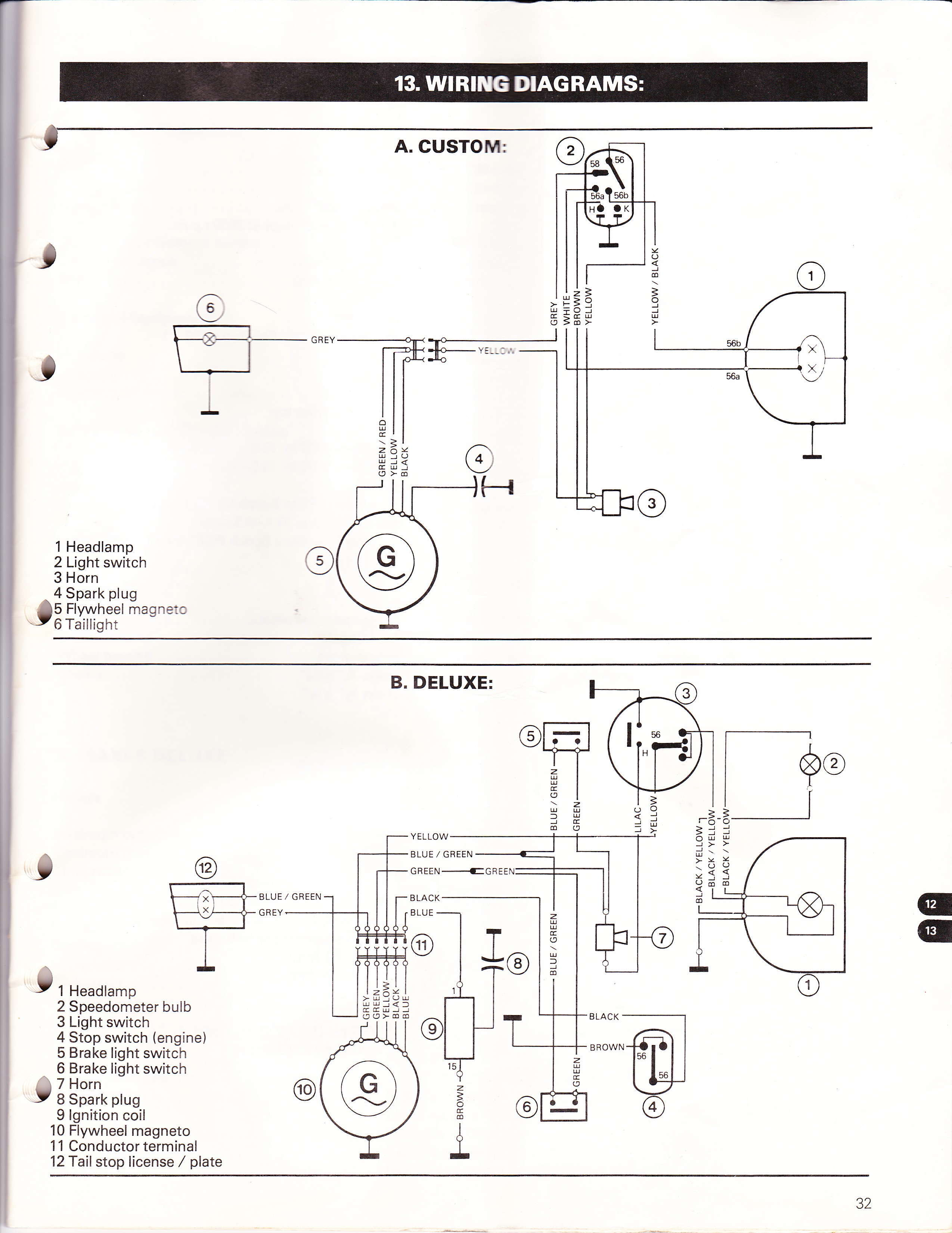 wire diagram for really early puchs
