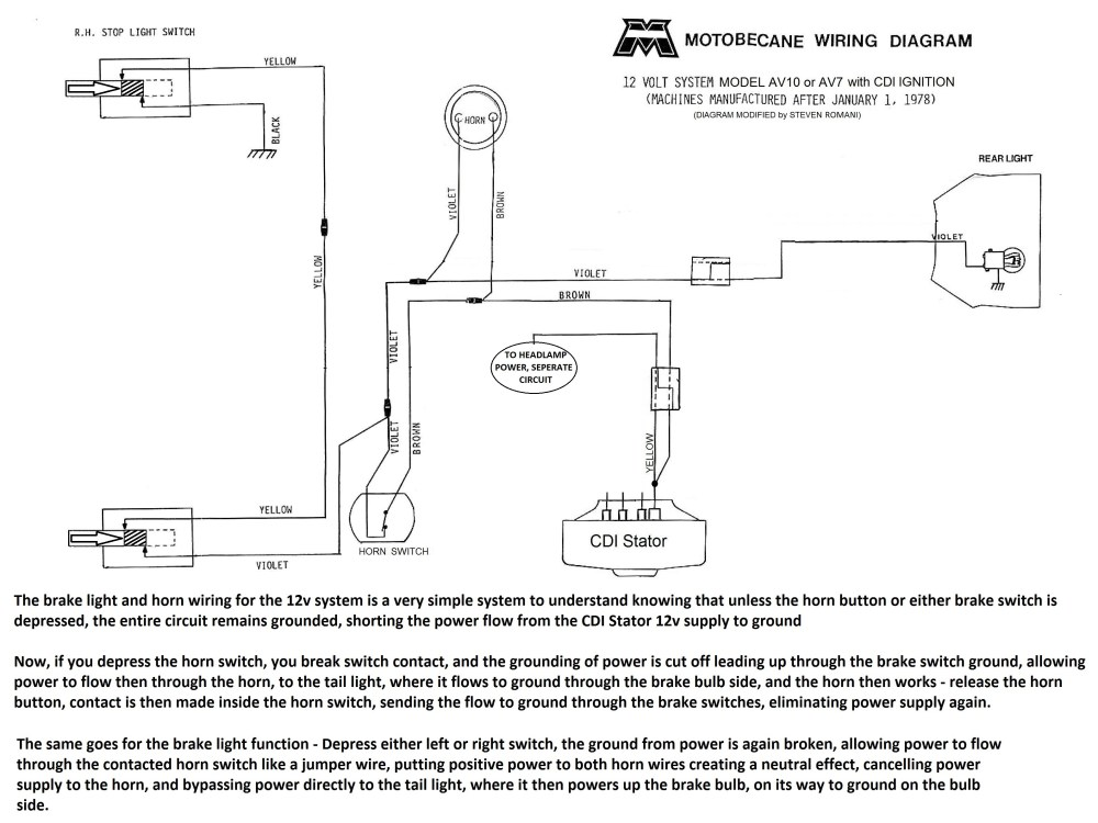 medium resolution of motobecane 12v cdi wiring diagram av10 secondary power jpg