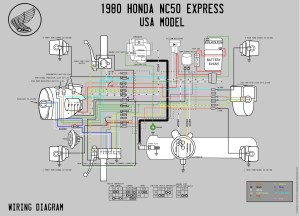 1980 Honda NC50 Wiring Diagram  Moped Wiki