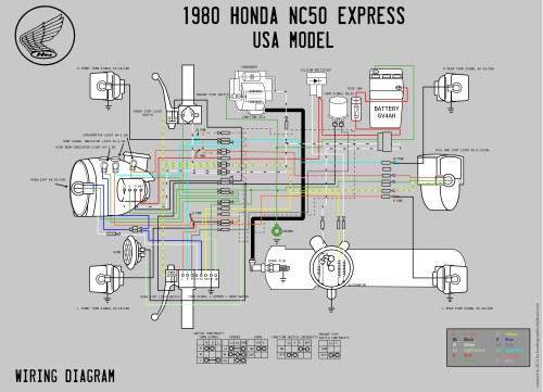 small resolution of honda scooter wiring diagram wiring diagram yer 1980 honda nc50 wiring diagram moped wiki honda today