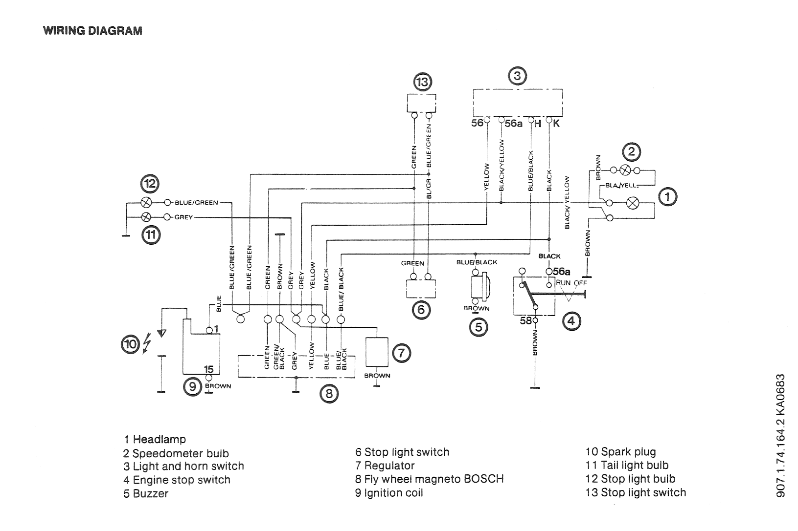 hight resolution of puch wiring diagrams moped wiki rh mopedarmy com