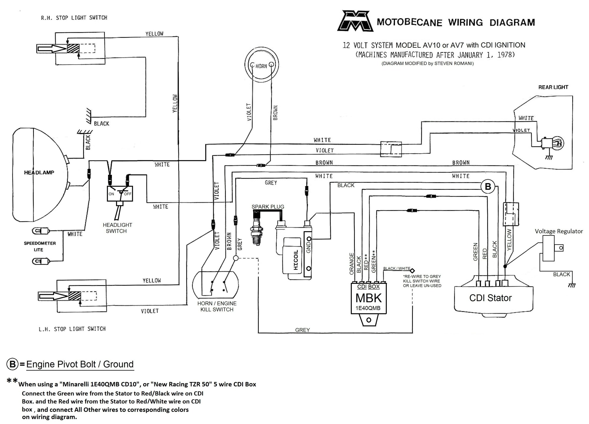 hight resolution of  motobecane 12v cdi wiring diagram av10 and av7 jpg