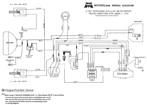 small resolution of  motobecane 12v cdi wiring diagram av10 and av7 jpg