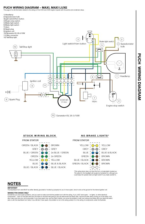 small resolution of puch wiring diagram